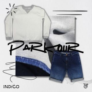 Parkour, the right fusion of loungewear and athleisure.   We bring you the best of the best. Wear parkour to have the comfort of a loungewear with the features of an athleisure.  Swipe right to see how parkour fabrics bring in unlimited possibilities.  To know more email us at Marketing@indigo.com.pk  #deniminpakistan #sustainability #blueforblue #dyenamic #madeinpakistan #worldofdenim #denim #denimdesign #designthinking #denimlife #denimgoods #denimbrand #denimblue