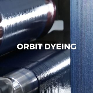 Dyeing processes of the past were extremely hazardous for the environment. They caused wastage of water, chemical effluent and were especially straining on the atmosphere.   After continuous research to combat the issues that come with conventional dyeing processes, we came up with the most sustainable premium dyeing process which result in the purest of colours.  The answer to this is Orbit Dyeing.   The Orbit dyeing process is truly revolutionary and is only made possible with state of the art machinery and infrastructure. This dyeing procedure guarantees that the indigo colour is only deposited around the circumference of the yarn, preventing dye loss in the core.   Orbit Dyeing is sustainable since it saves upto 30% more water, uses fewer chemicals and gives better laser results in the garment process.  At Indigo, we are keen and concerned about the impact of the industrial processes on the environment, which is why every step that we take, it is for a sustainable future.  #deniminpakistan #sustainability #blueforblue #dyenamic #madeinpakistan #worldofdenim #denim #denimdesign #designthinking #denimlife #denimgoods #denimbrand #denimblue